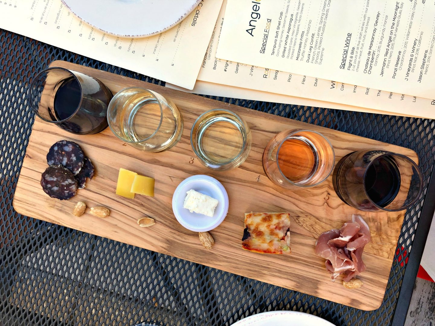 Wine and Appetizer Pairing at Angelo's Wine Bar- Chicago