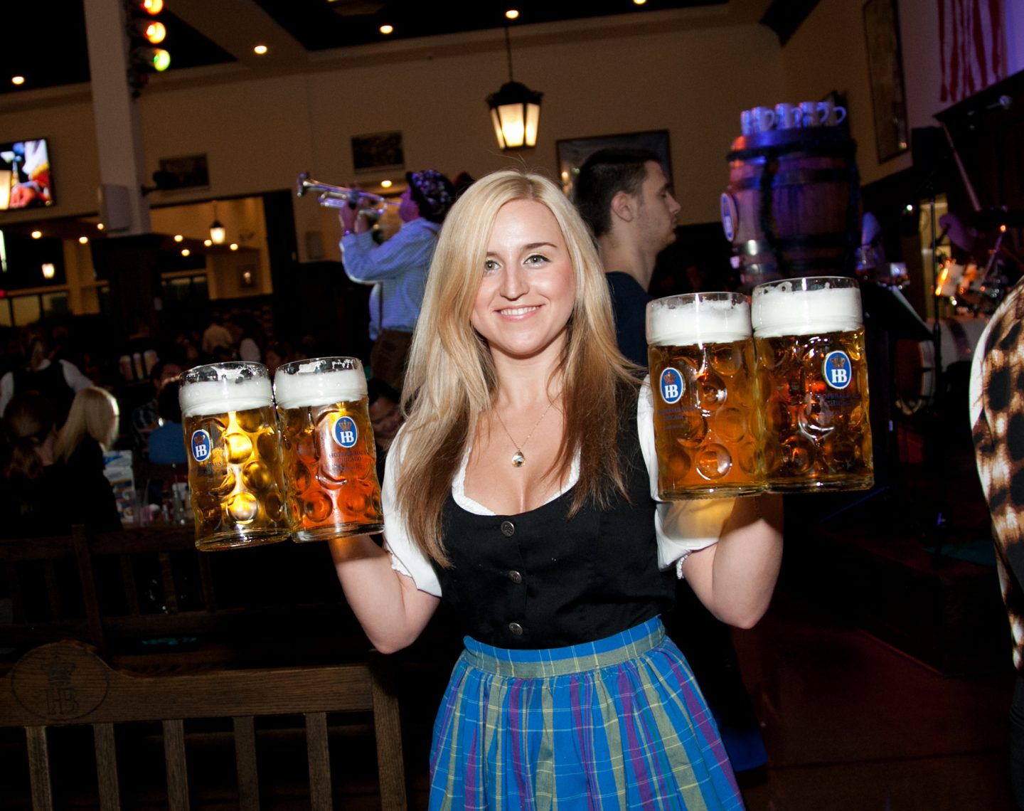 Waitress at Hofbrauhaus