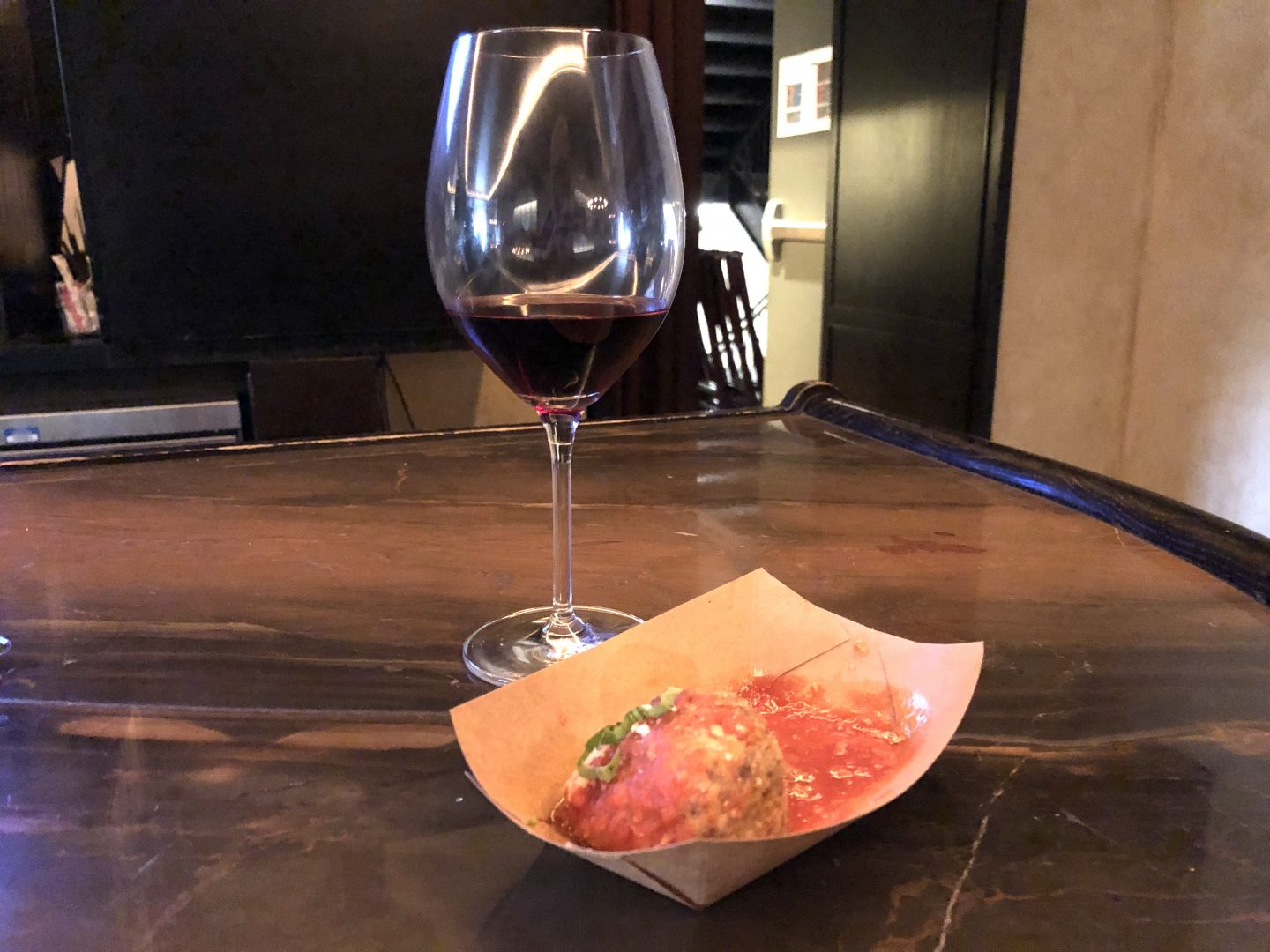 Meatball and Wine Pairing at Formento's Chicago